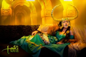 Lady Loki- Marvel Comics by Kath-Jimenez