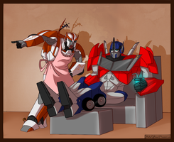 TFP_Autopops and Medicmom by ShadowOfSolace