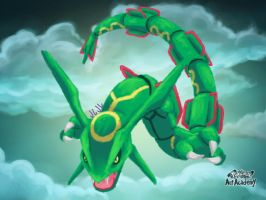 Colo - Rayquaza by Eevee33