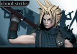 Cloud Strife 2 by Zbrush-Hero