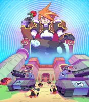 Escape From Glyde's Base Tribute by ObstinateMelon