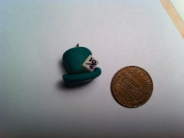 Mad Hatter Hat Charm ~$2 by Jenna7777777