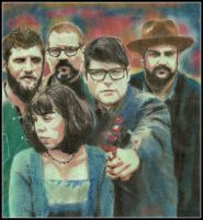 The Decemberists by breadzilla