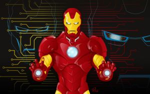 Iron Man Vector by YulayDevlet