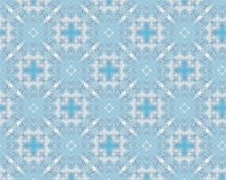 White-Blue Tile 2 by xtextures-stock
