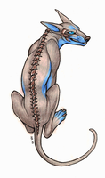 My spine is made of metal by CanisAlbus