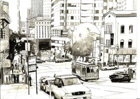 San Francisco ink by Edgeman13