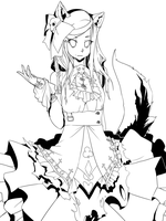 Gothic lolita  Tolly by Girutea