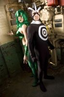 Polaris and Havok by Miracole