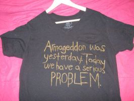 The Girl With The Dragon Tattoo Armageddon Shirt by ange-etrange