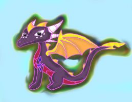 A child for spyro and cynder by spyrochick308