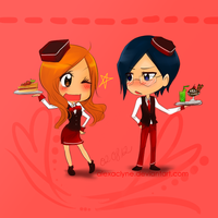 Prize: Waitress x Waiter by AlexaClyne
