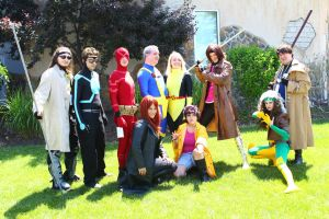 ColossalCon 2014 - Marvel Photoshoot 04 by VideoGameStupid