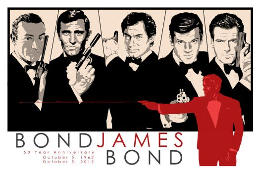 50 Year Anniversary -- Bond by lil-n00dle