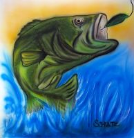Largemouth Bass by dx