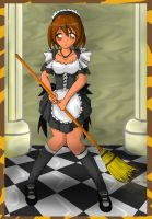 French Maid for Rinuki by diaboso