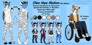 Chloe Madson reference by Deltive