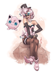 Jigglypuff girl by quotidia