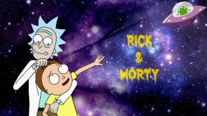 Rick And Morty Space and Aliens Wallpaper by Roxy1049