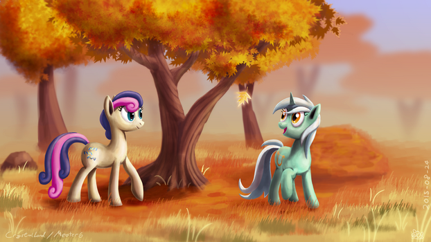 Autumn Friends by Meater6