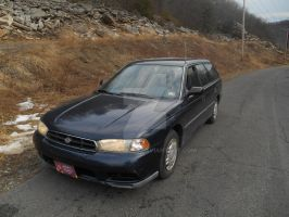 My Subie by canona2200