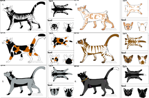 Cat adoptables FREE!! by Talitah
