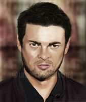 Karl Urban - Portrait by AlienFodder