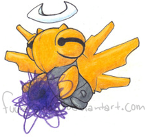 Shedinja used Shadow Ball by Fuwaraido
