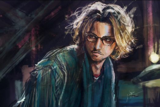 Johny depp - secret window by MsViVid