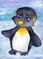The Penguin by Starrydance
