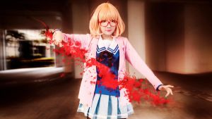 Kyoukai no Kanata - Ready to fight! by nyaomeimei