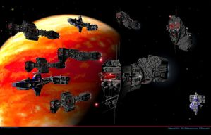 Earth Alliance Fleet dont fav by madmick2299