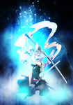 [ Light Effect ] Youmu Konpaku by CaptainMisuzu