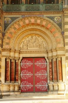Doorway 2 - Marseille Cathedral by wildplaces