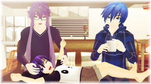 [MMD] In a world like this - Gakupo x Kaito by hailualendoi5195