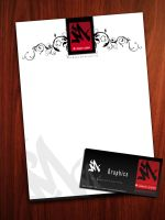 M-Graphics Letterhead by darkevil2