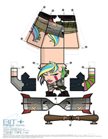 BIT+ Series 12 Indy Legends 2 Tank Girl Sheet by IdeatoPaperStudios