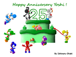 25 years of Awesomeness ! by Ishimaru-Chiaki
