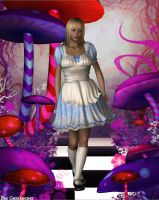 Alice in Wonderland by faegatekeeper