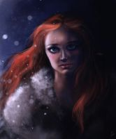 Sansa Stark by AiDerathar