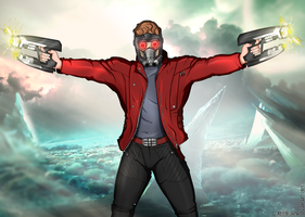 Guardians of the Galaxy : Star Lord by Reito-sama