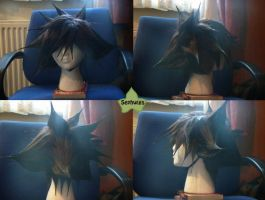 Wig Commission - Sora by kyos-girl