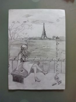 Paris *-* by wolfland2