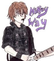 Mikey Way Live by CaptainKPeanuts