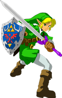 Cel-Shaded Link by caseycole11