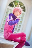 Prince Gumball Cosplay - Adventure Time by DakunCosplay