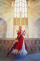 Fate/Extra - Saber Nero -02- by beethy