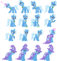 Trixie Vectors Set 16 by Jeatz-Axl