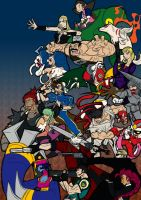 Marvel vs. Capcom 3: Capcom by Franckjp