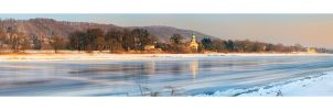 Winter in Pillnitz by Torsten-Hufsky